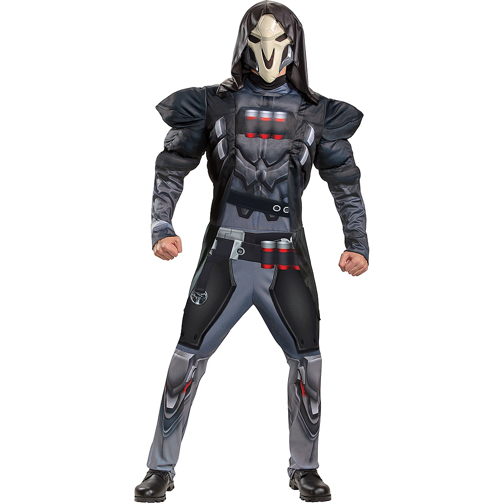 Adult Reaper Muscle Costume - Overwatch Image #1