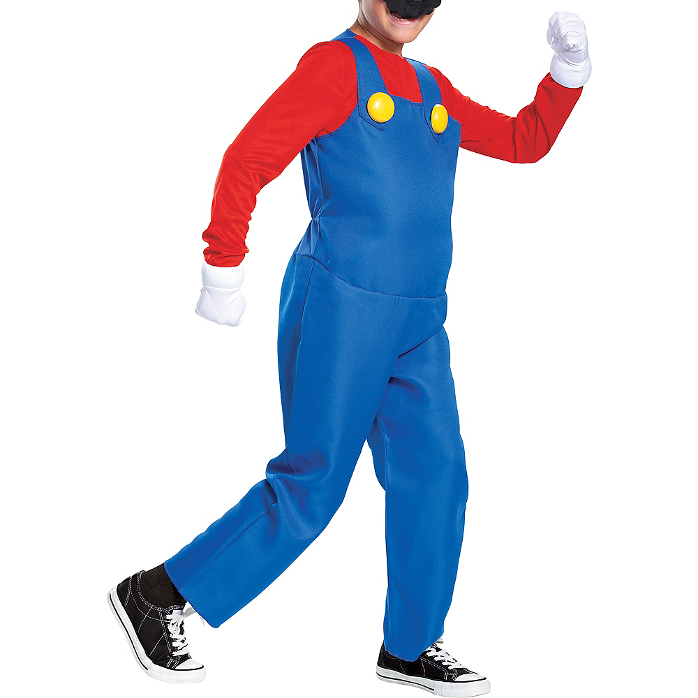 Nav Item for Child Mario Costume - Super Mario Brothers Image #3