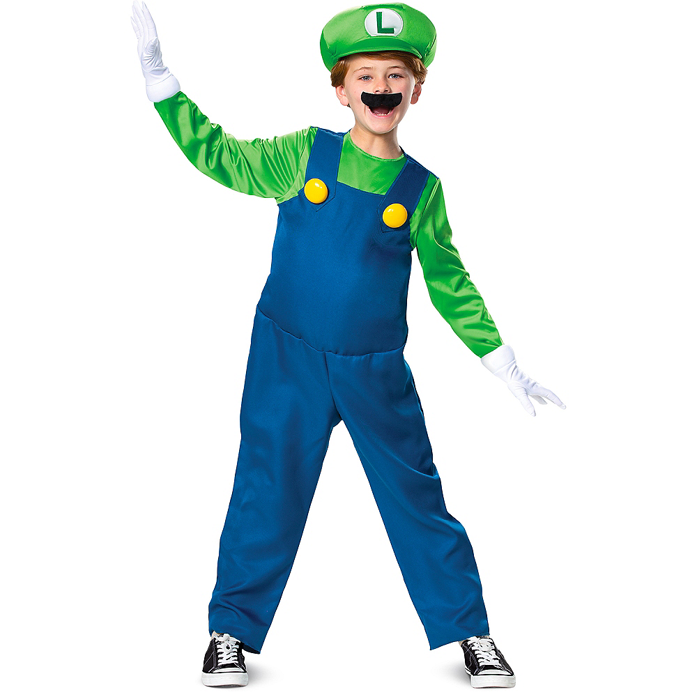 Child Luigi Costume - Super Mario Brothers Image #1