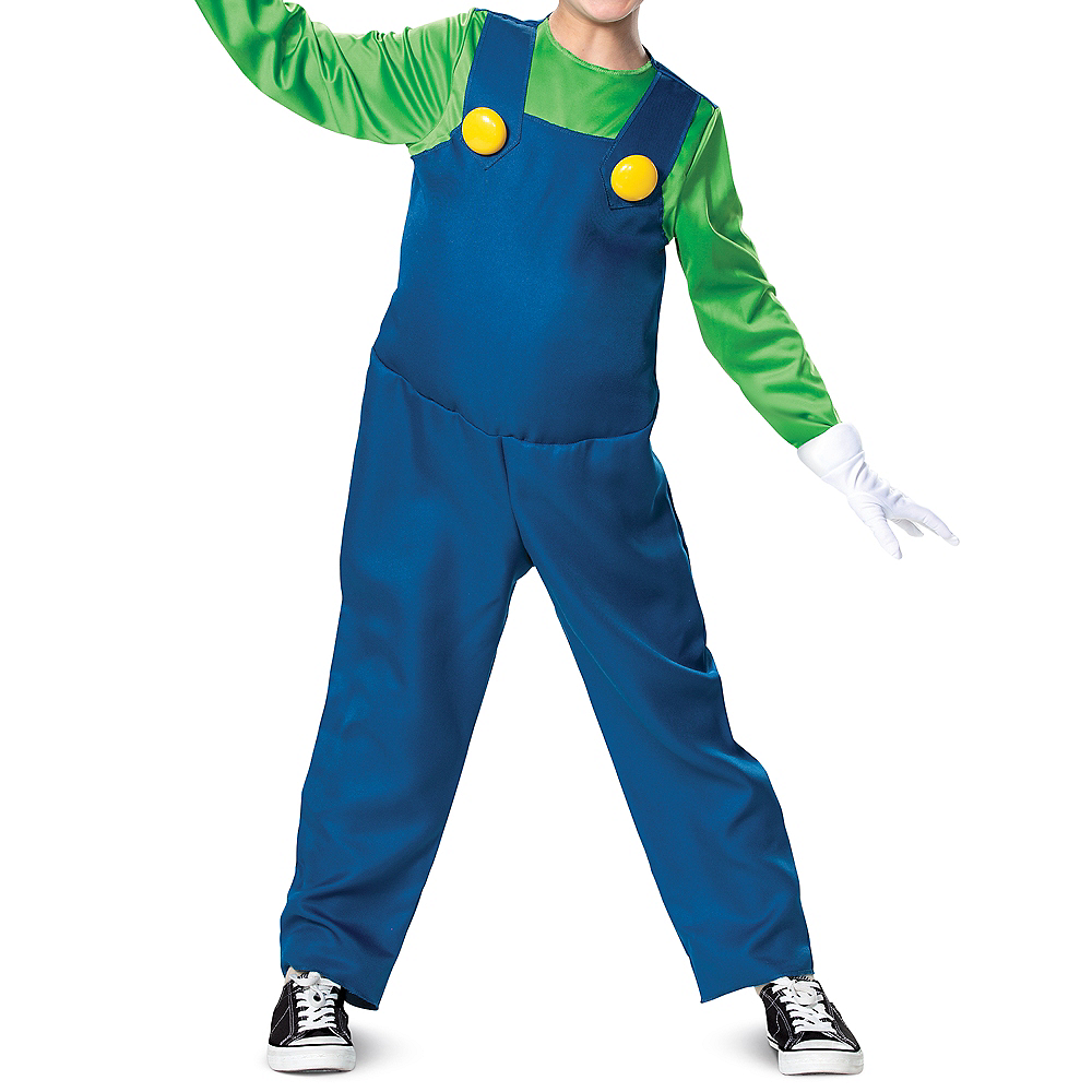 Child Luigi Costume - Super Mario Brothers Image #3