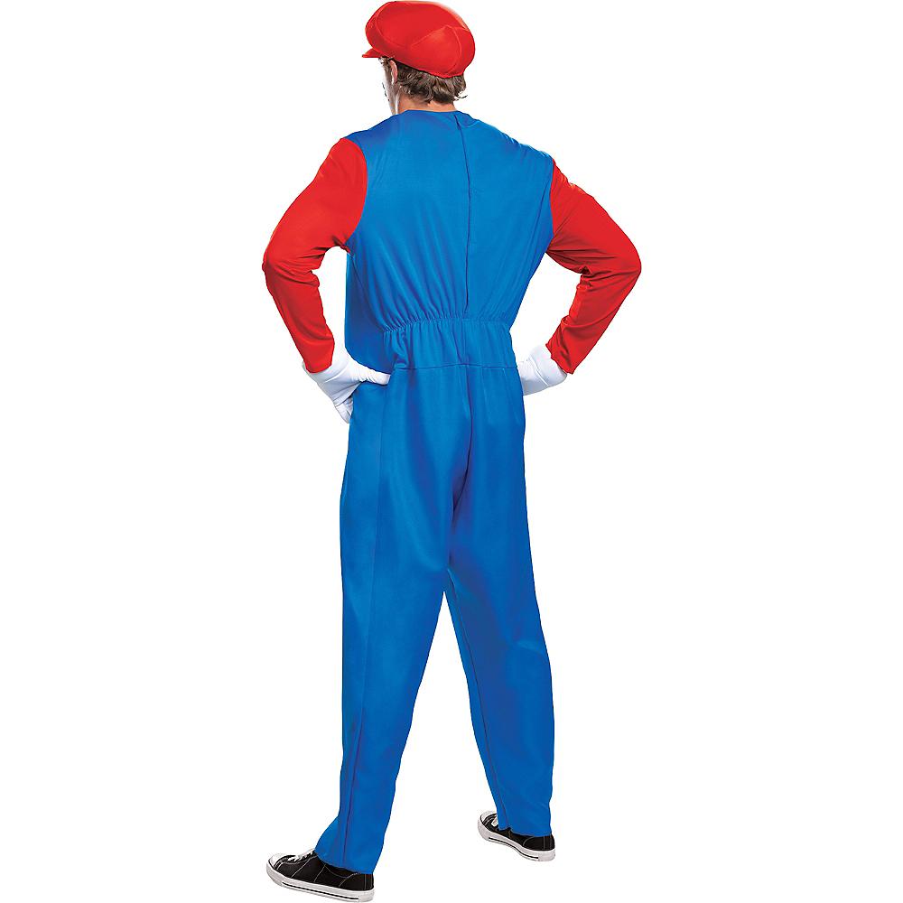 Adult Mario Costume - Super Mario Brothers Image #2
