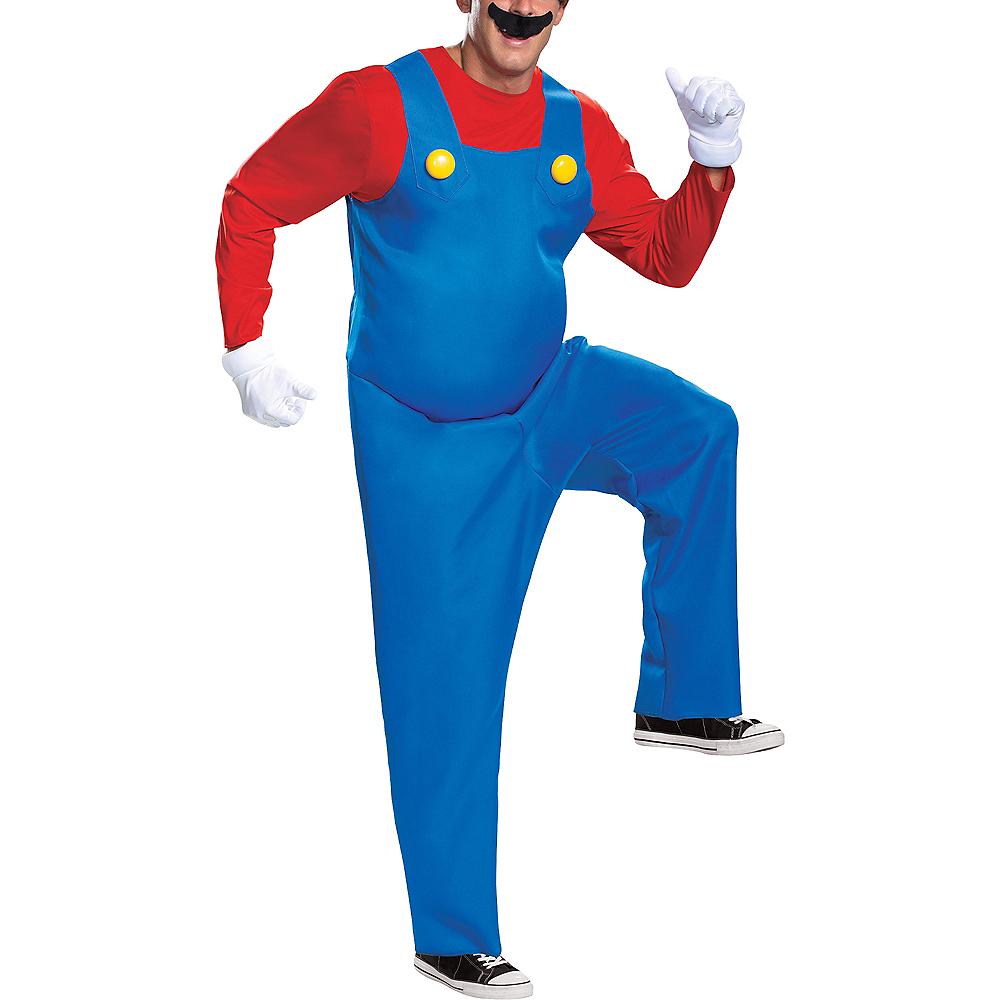 Adult Mario Costume - Super Mario Brothers Image #4