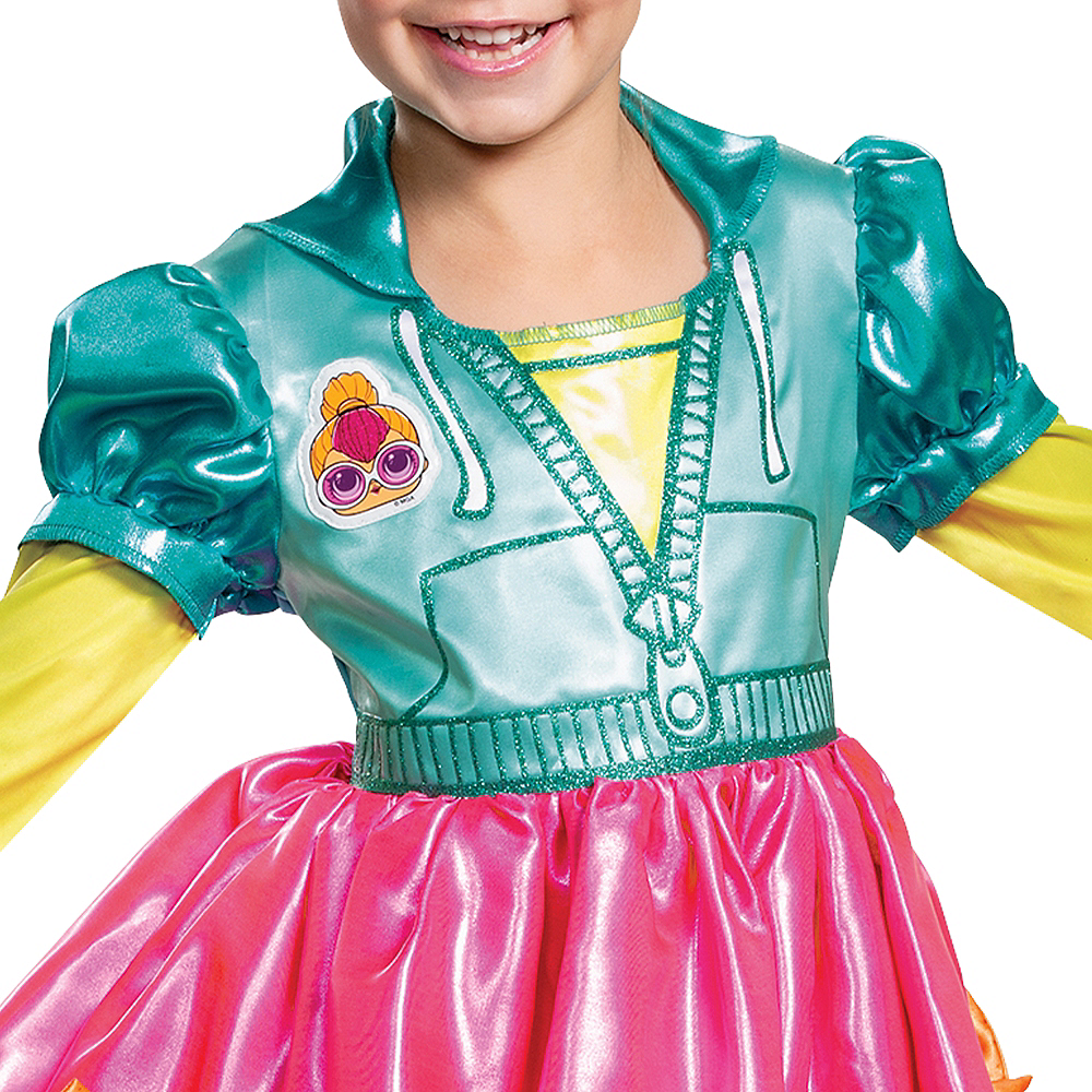 Child Neon Q.T. Costume - L.O.L. Surprise! Image #3