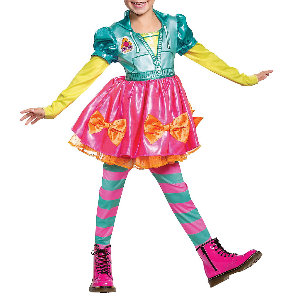 Child Neon Q.T. Costume - L.O.L. Surprise! Image #5
