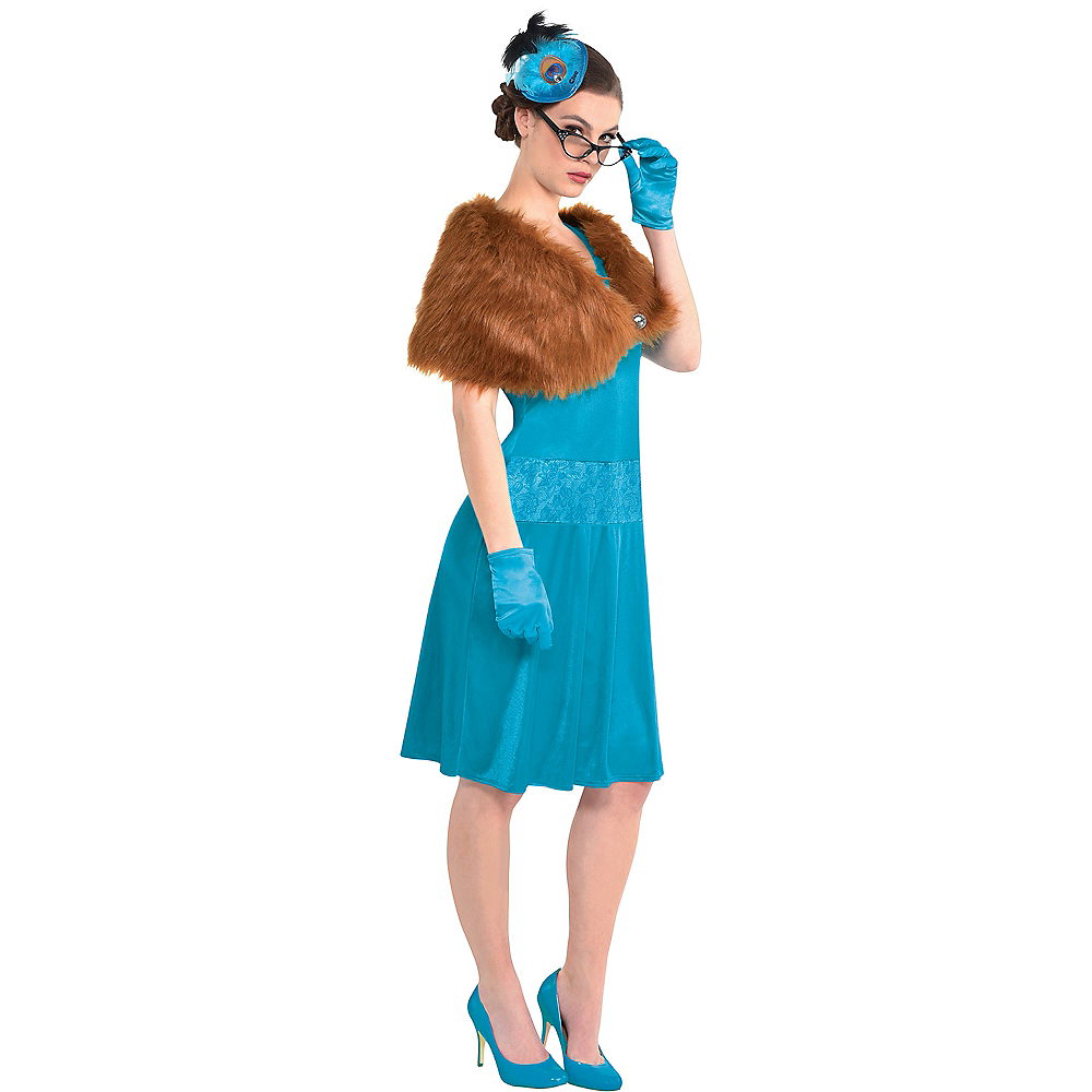 Adult Mrs. Peacock Costume - Clue Image #1