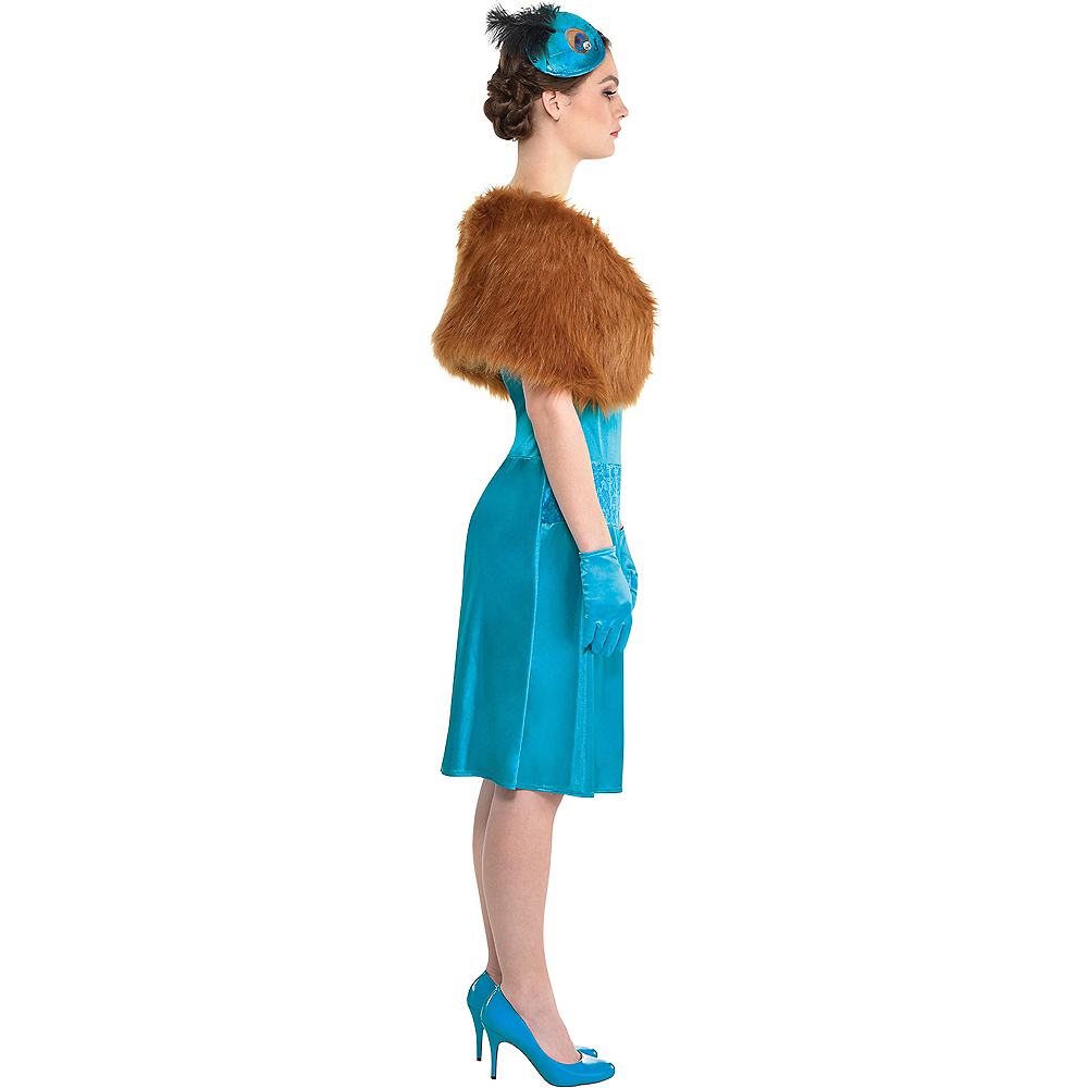 Adult Mrs. Peacock Costume - Clue Image #2