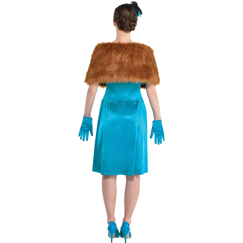 Adult Mrs. Peacock Costume - Clue Image #3