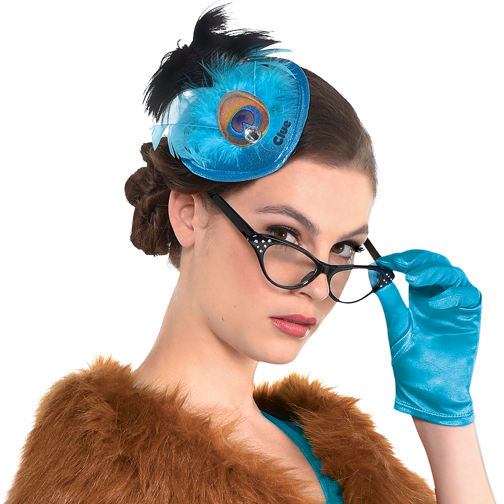 Adult Mrs. Peacock Costume - Clue Image #4