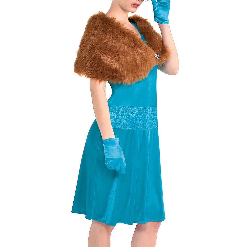 Adult Mrs. Peacock Costume - Clue Image #5