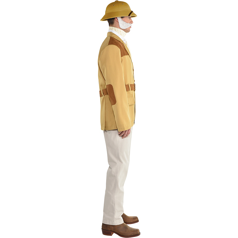 Adult Colonel Mustard Costume - Clue Image #2