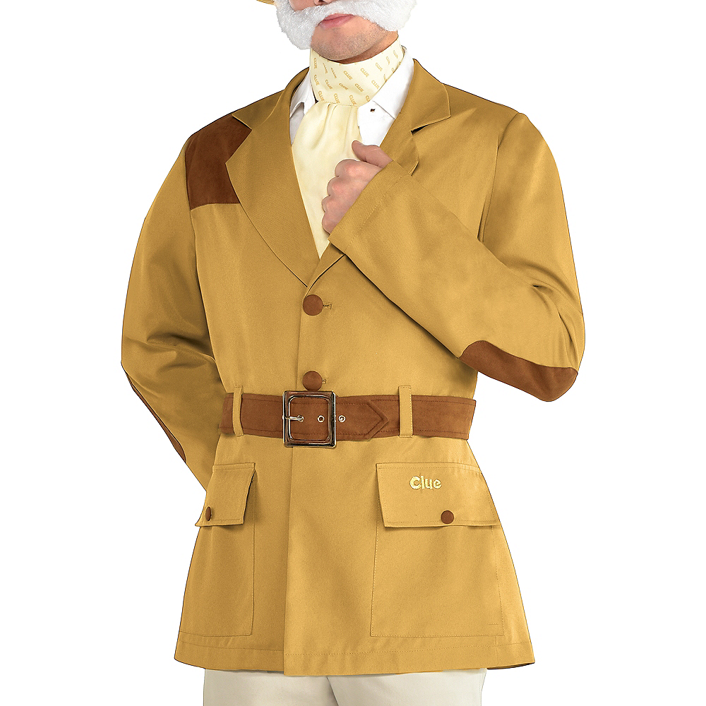 Nav Item for Adult Colonel Mustard Costume - Clue Image #4