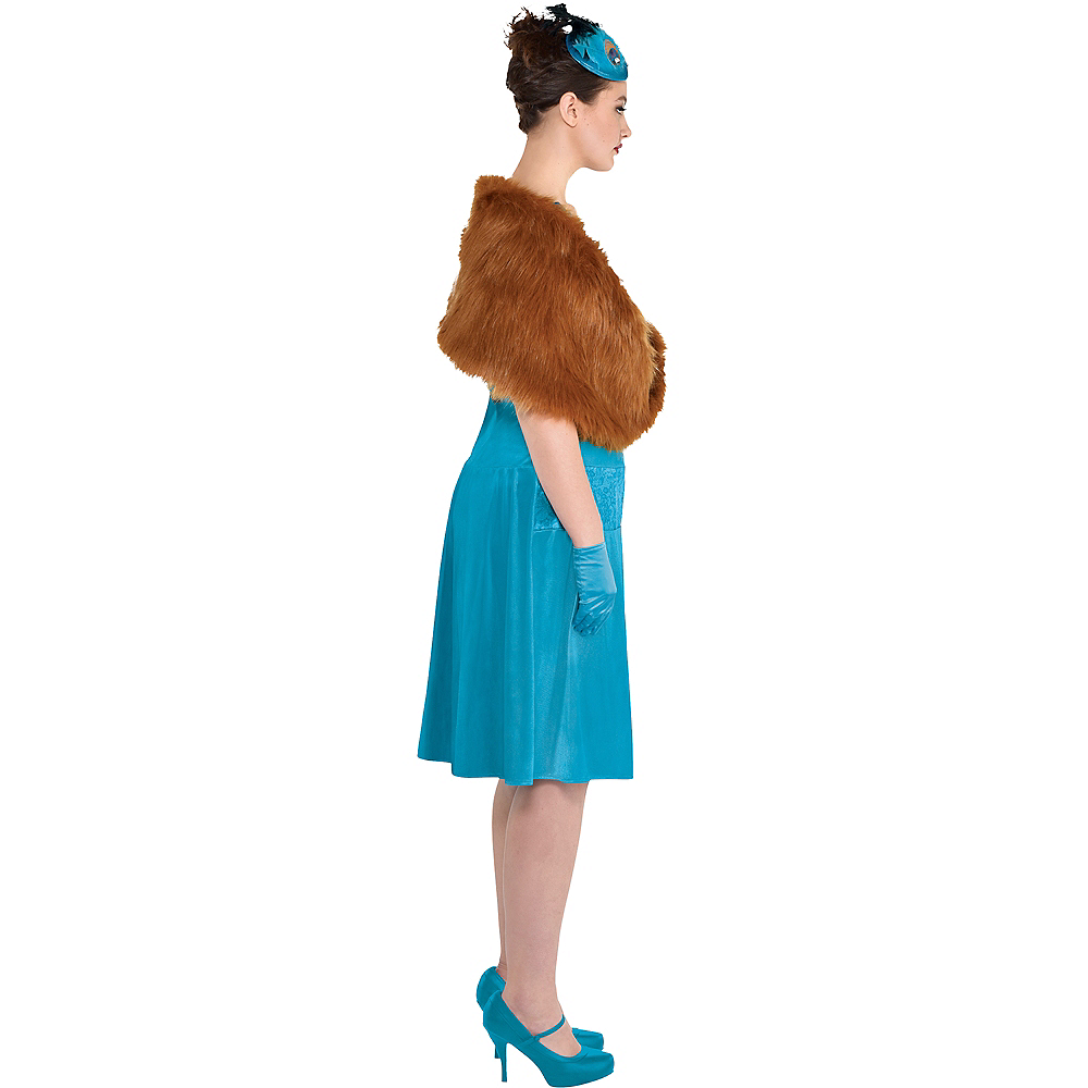Adult Mrs. Peacock Costume Plus Size - Clue Image #2