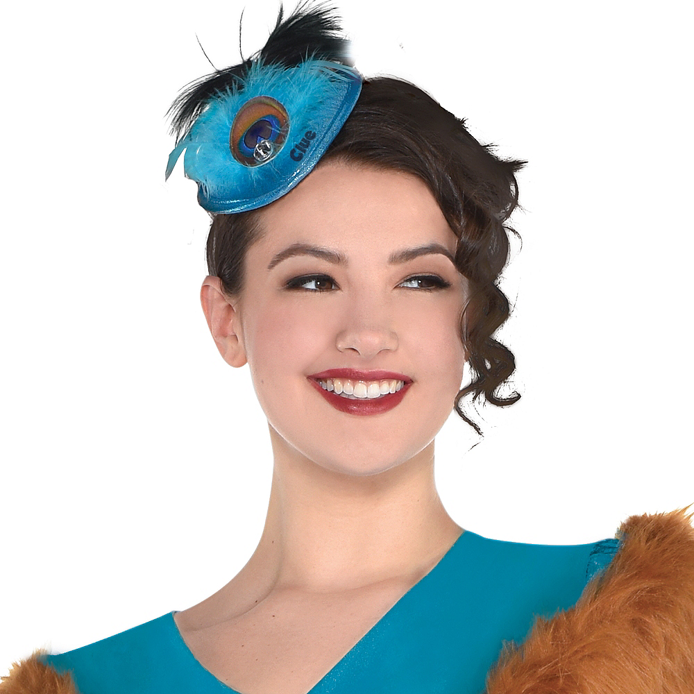 Adult Mrs. Peacock Costume Plus Size - Clue Image #3