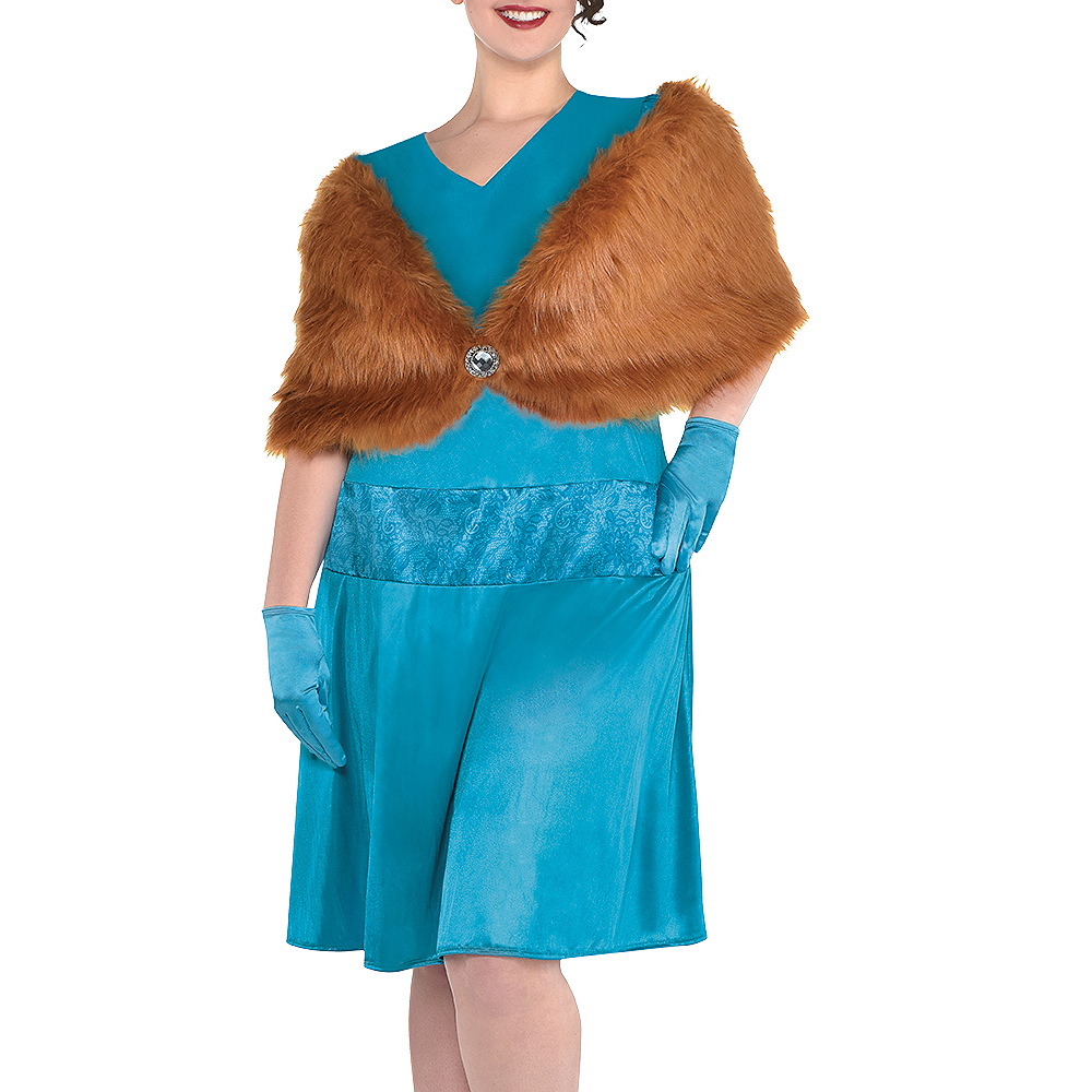 Adult Mrs. Peacock Costume Plus Size - Clue Image #4