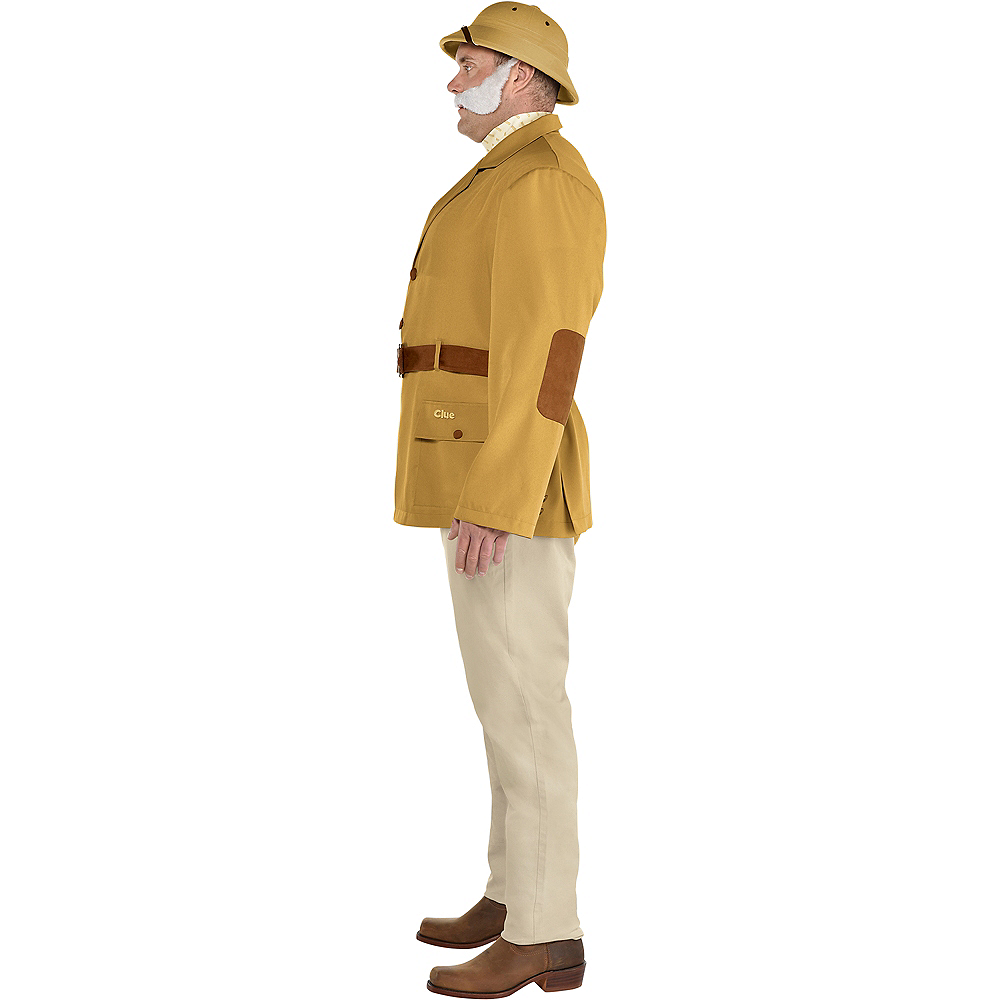 Adult Colonel Mustard Costume Plus Size - Clue Image #2