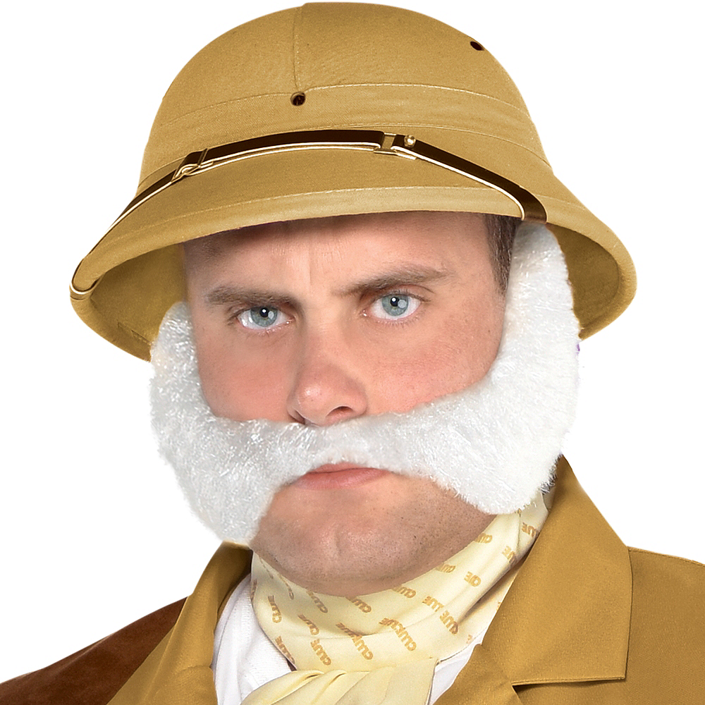 Adult Colonel Mustard Costume Plus Size - Clue Image #3
