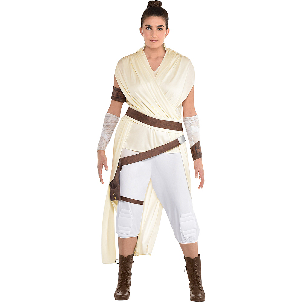 Adult Rey Costume Plus Size - Star Wars 9 The Rise of Skywalker Image #1