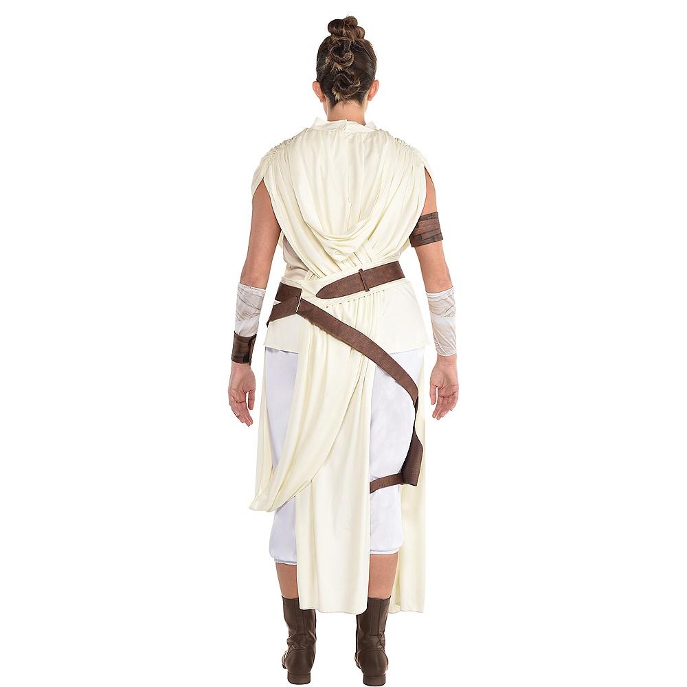 Plus Size Rey Costume For Adults Star Wars 9 The Rise Of Skywalker Party City