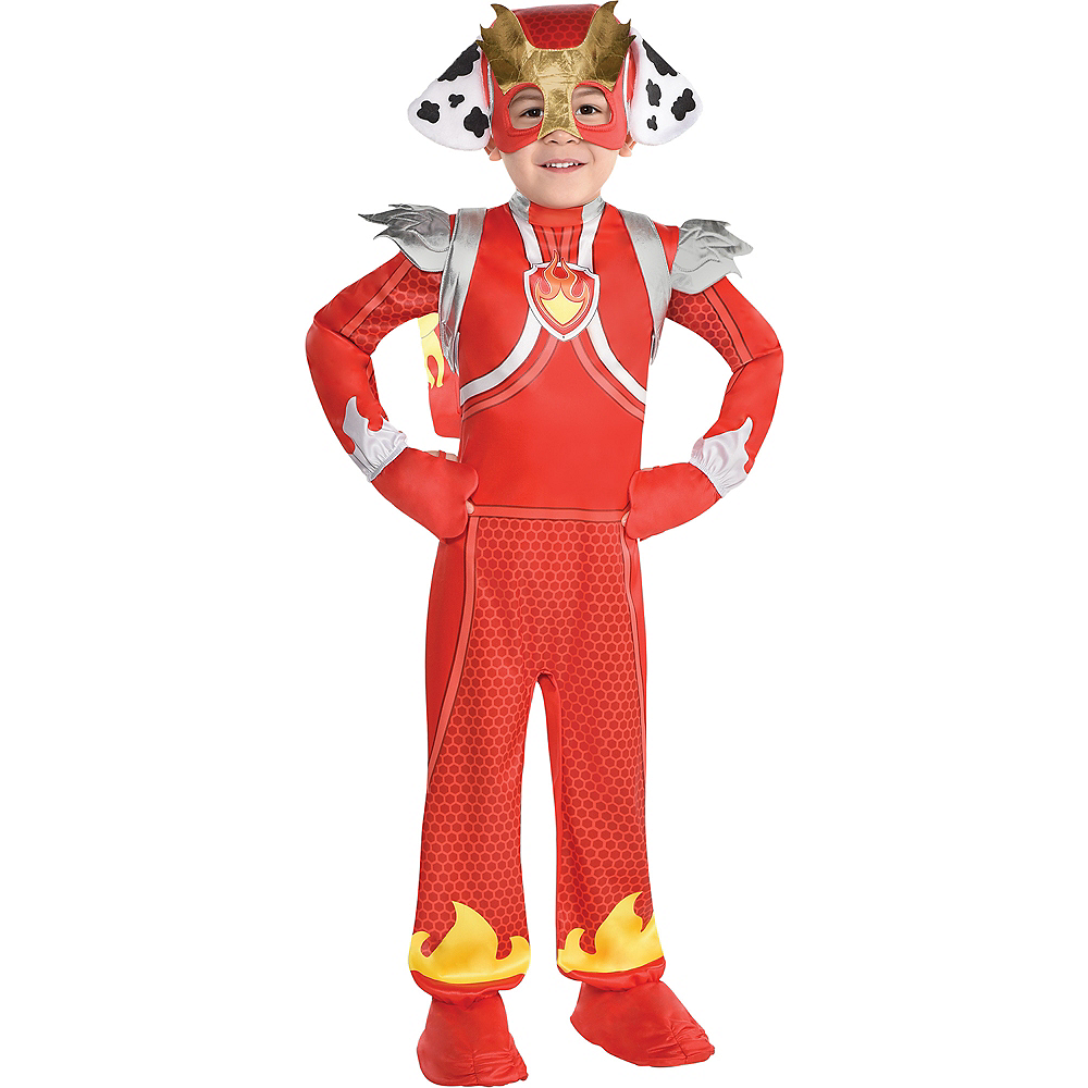 Child Marshall Costume - PAW Patrol Mighty Pups Image #1