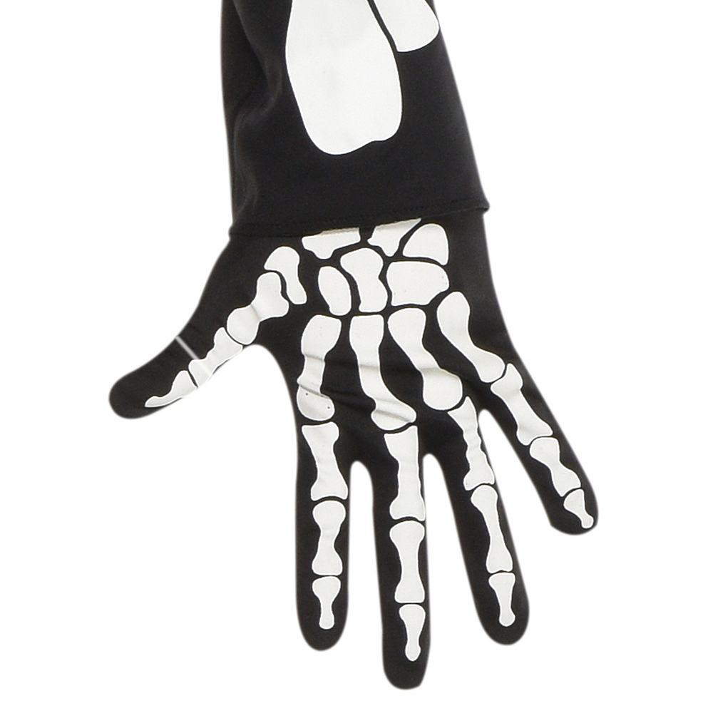 Adult Glow-in-the-Dark X-Ray Skeleton Costume Image #3
