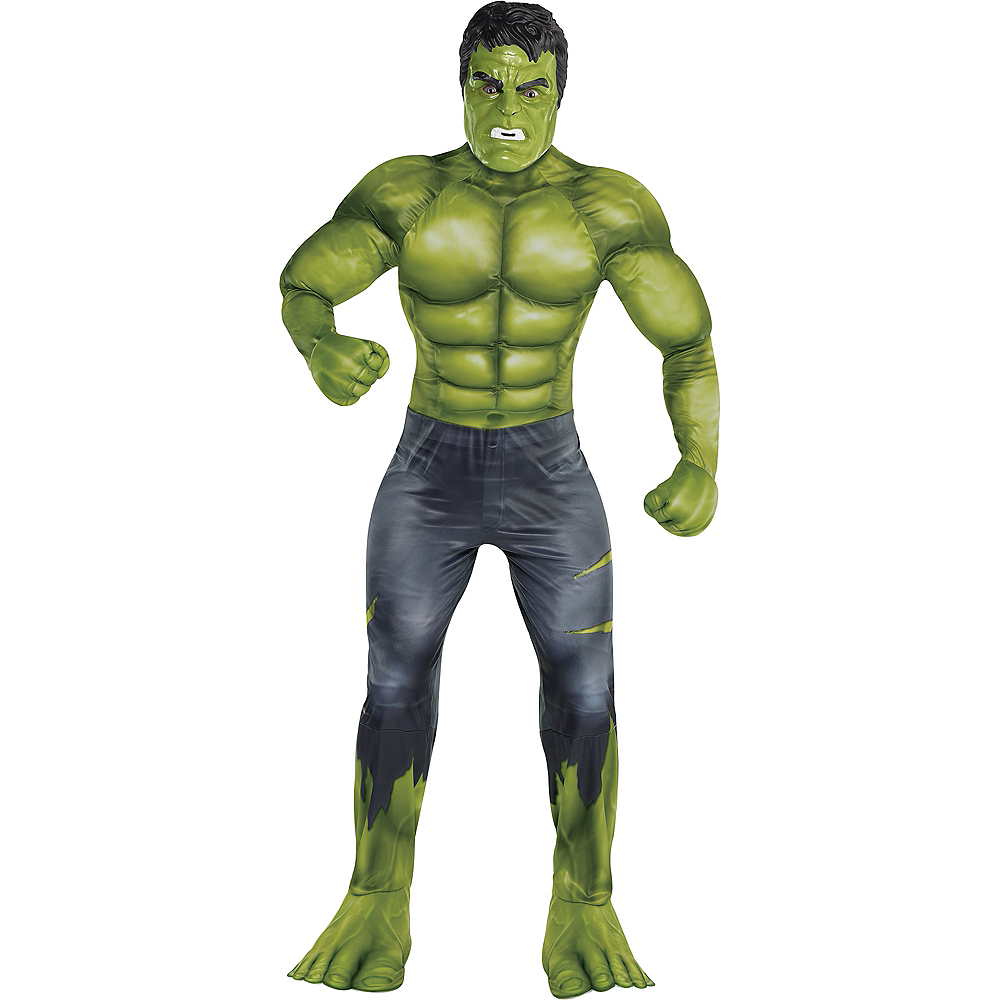 Nav Item for Adult Hulk Muscle Costume - Avengers: Endgame Image #1