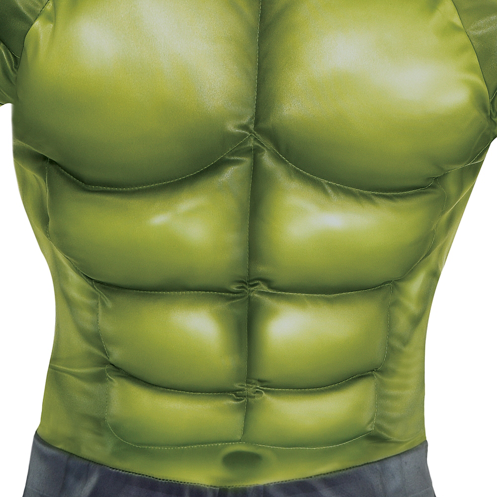 Nav Item for Adult Hulk Muscle Costume - Avengers: Endgame Image #3