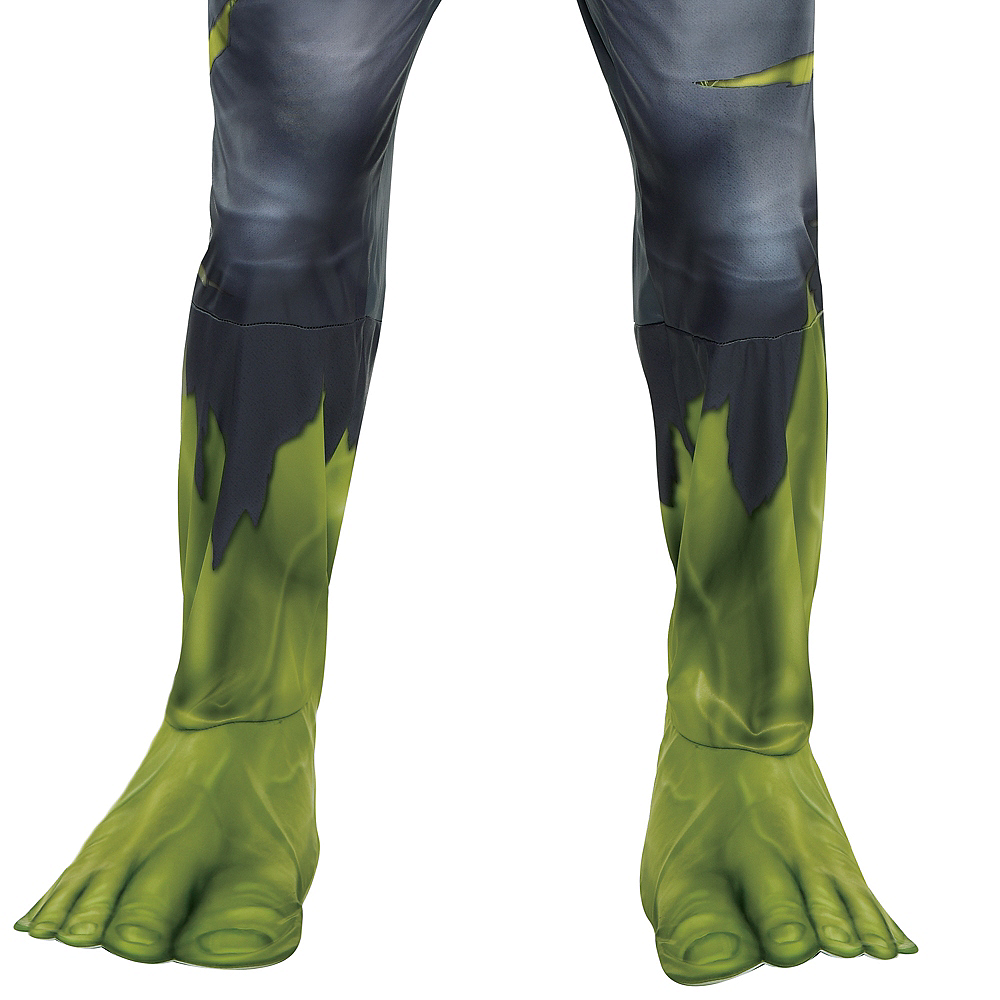 Nav Item for Adult Hulk Muscle Costume - Avengers: Endgame Image #4