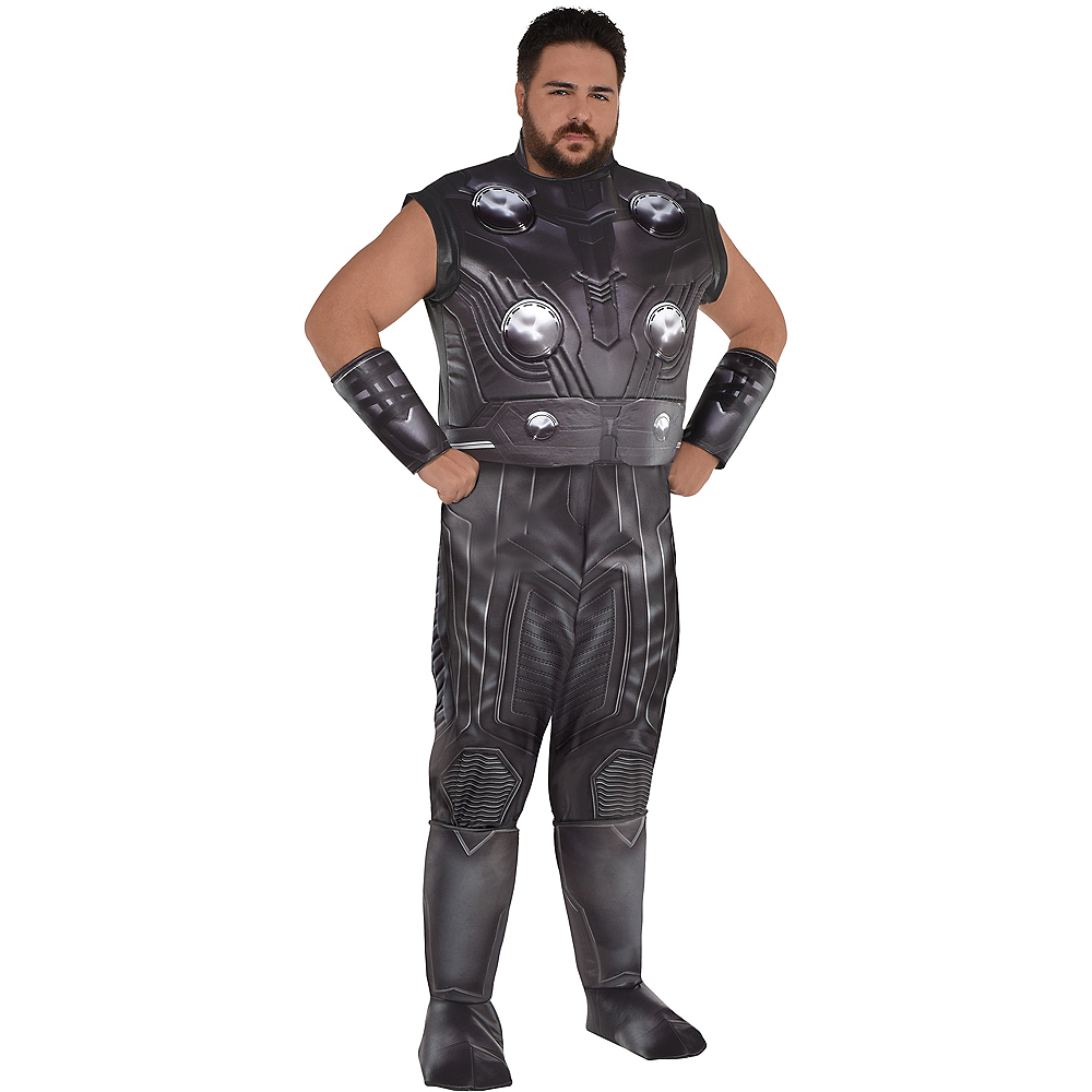 Adult Thor Muscle Costume Plus Size - Avengers: Endgame Image #1
