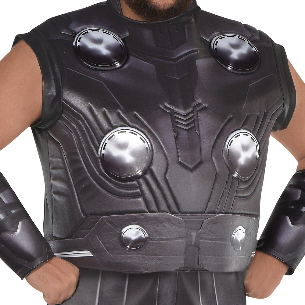 Adult Thor Muscle Costume Plus Size - Avengers: Endgame Image #2