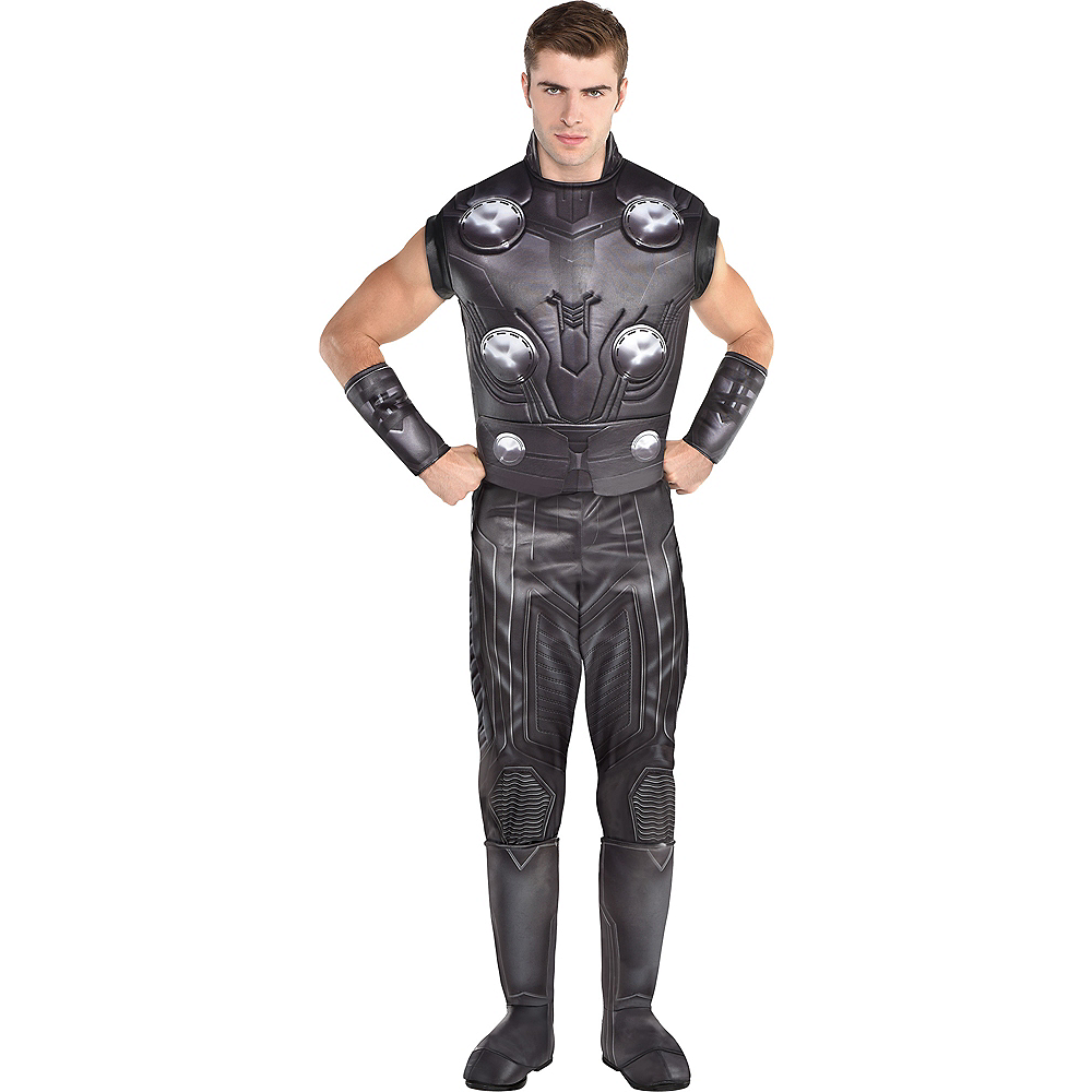 Nav Item for Adult Thor Muscle Costume - Avengers: Endgame Image #1