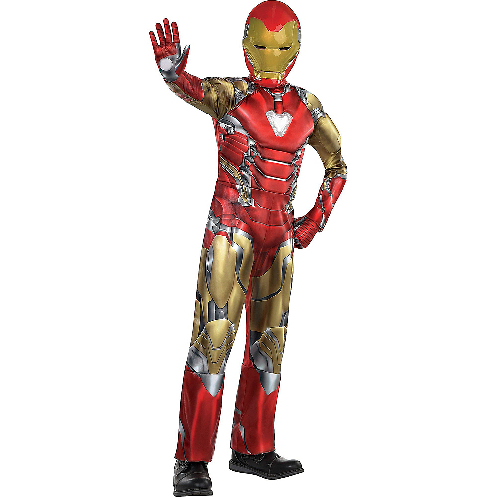 Child Iron Man Muscle Costume - Avengers: Endgame Image #1