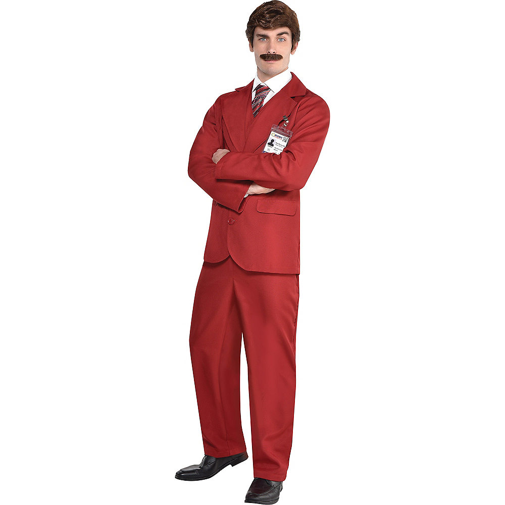 Adult Ron Burgundy Costume - Anchorman Image #1