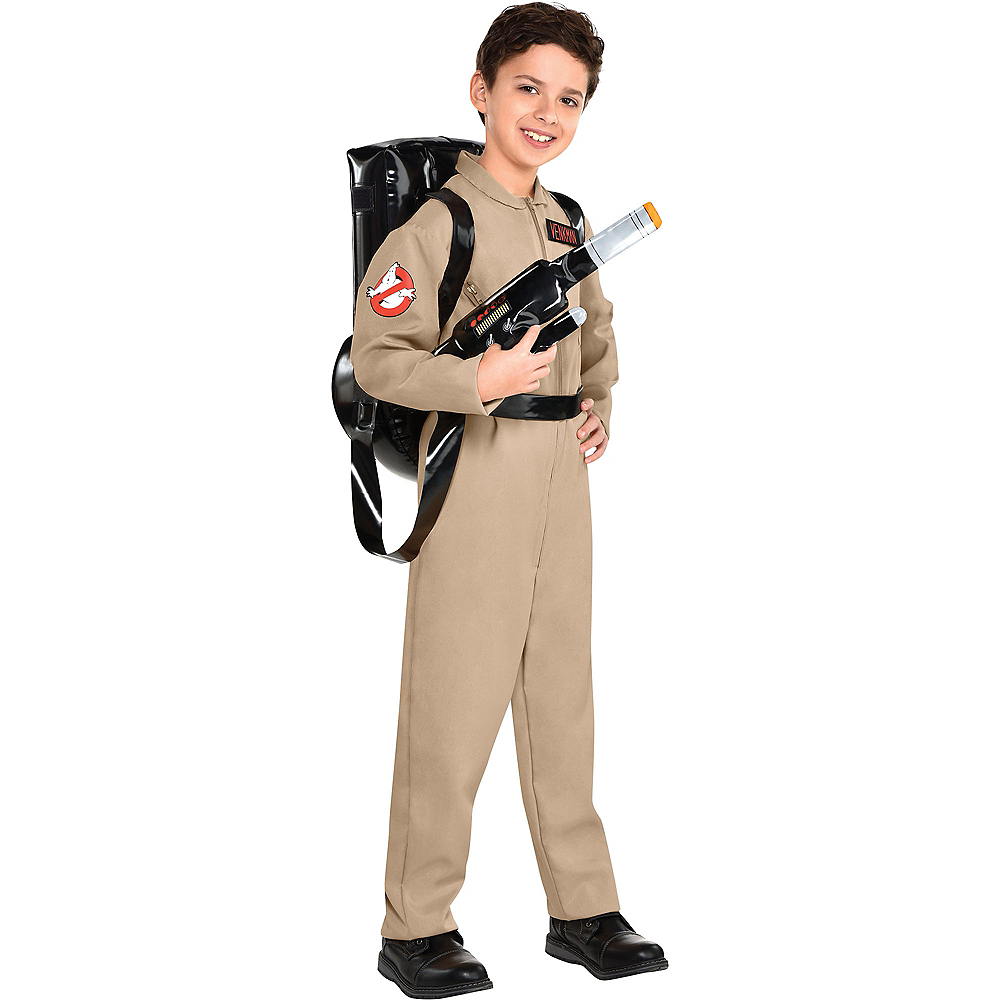 Child Ghostbusters Costume with Proton Pack Image #1