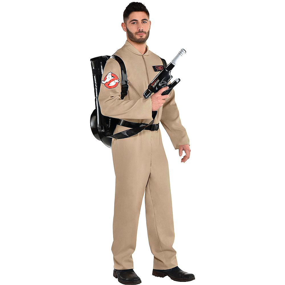 Adult Ghostbusters Costume with Proton Pack Image #1