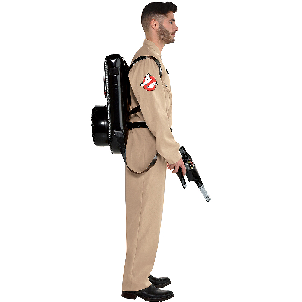 Adult Ghostbusters Costume with Proton Pack Image #2