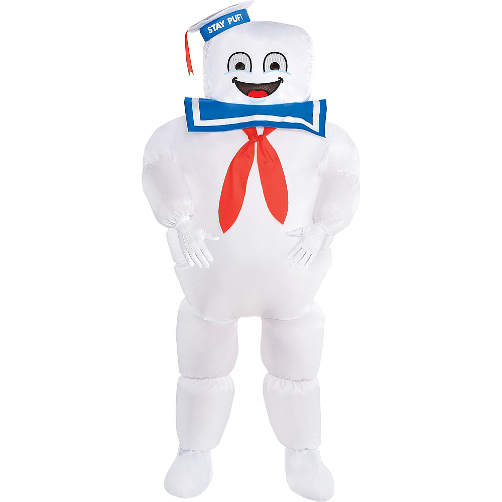 Child Classic Inflatable Stay Puft Marshmallow Man Costume - Ghostbusters Image #1