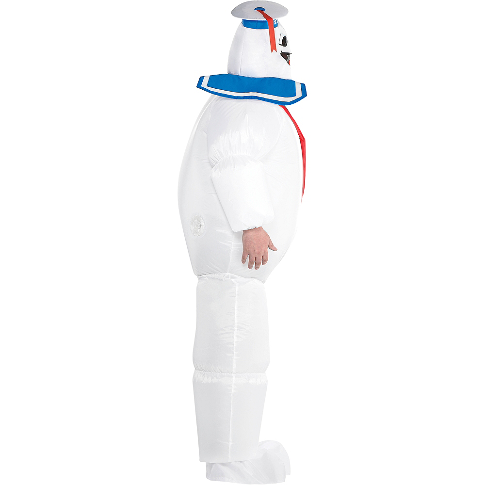 Adult Classic Inflatable Stay Puft Marshmallow Man Costume Plus Size - Ghostbusters Image #2