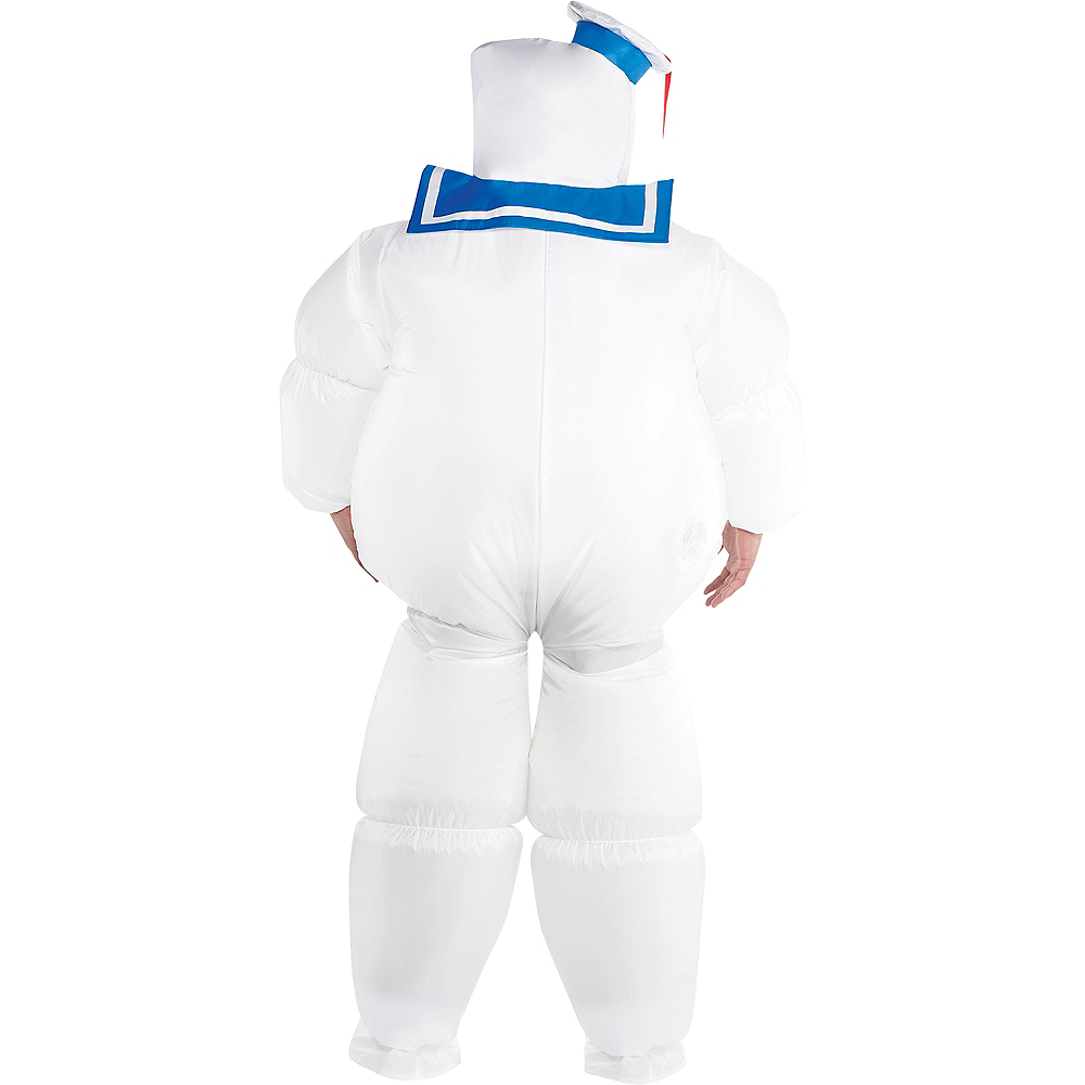 Nav Item for Adult Classic Inflatable Stay Puft Marshmallow Man Costume Plus Size - Ghostbusters Image #3