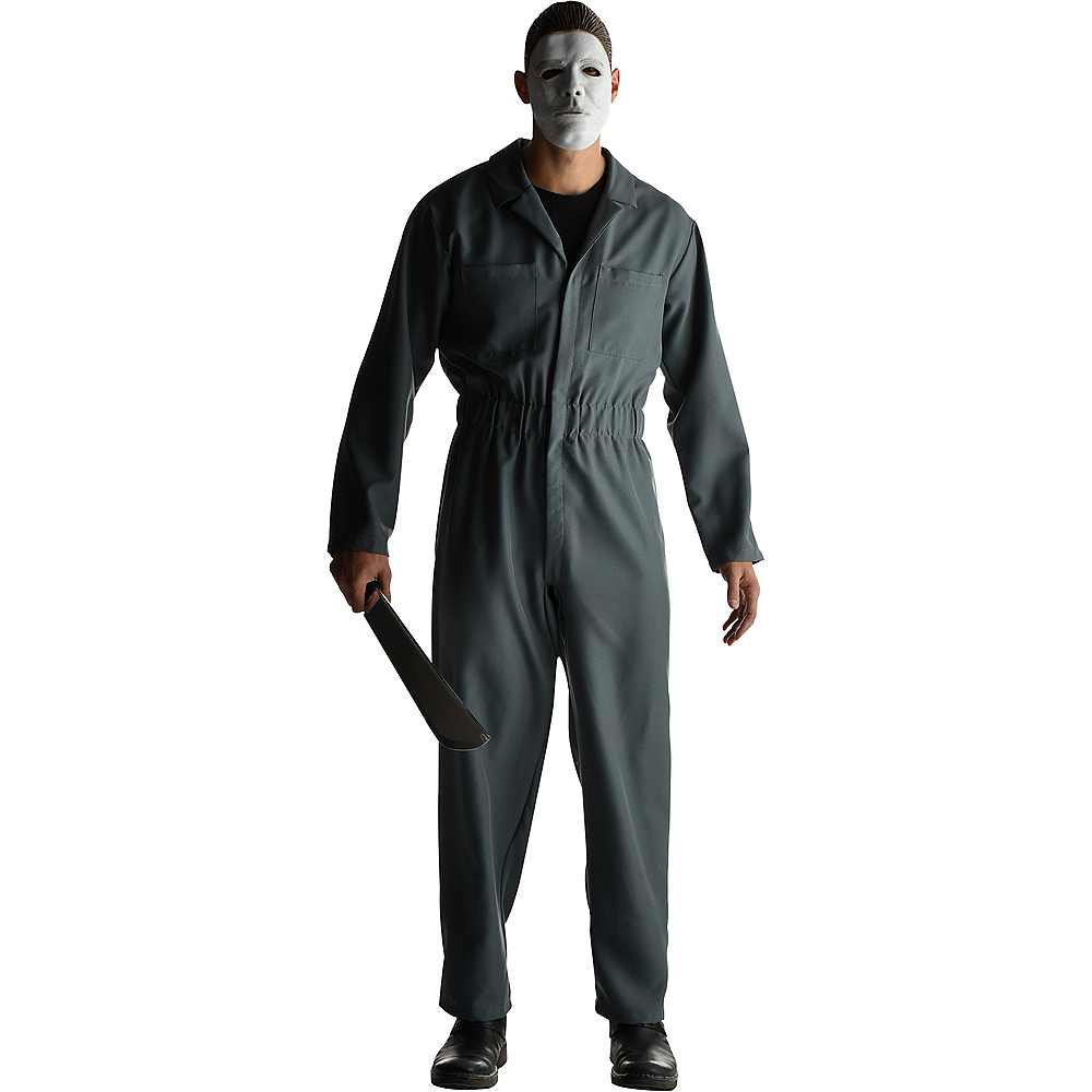 Nav Item for Adult Gray Michael Myers Costume - Halloween Image #1