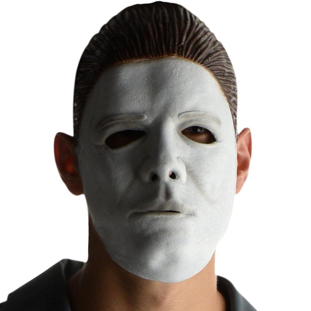 Nav Item for Adult Gray Michael Myers Costume - Halloween Image #2