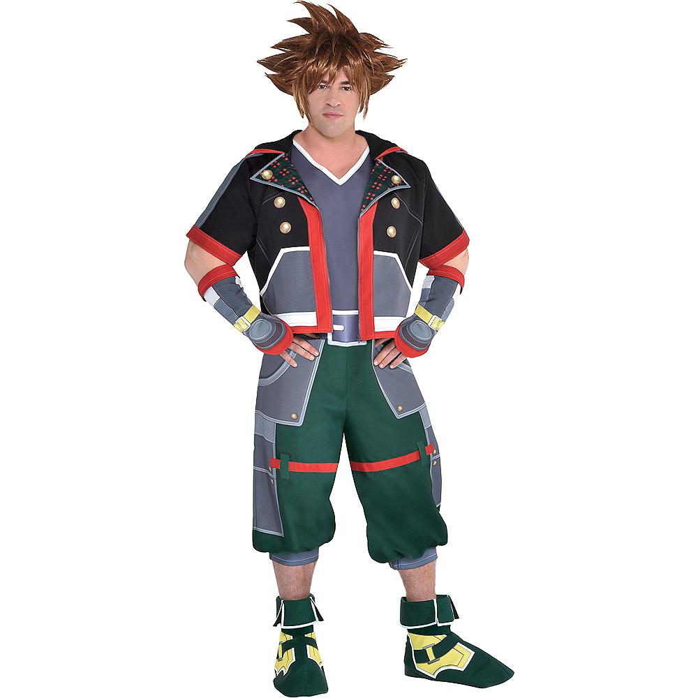 Adult Sora Costume Plus Size - Kingdom Hearts Image #1