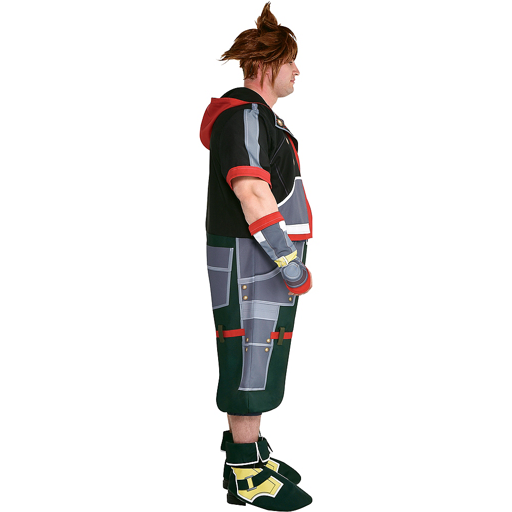 Adult Sora Costume Plus Size - Kingdom Hearts Image #3