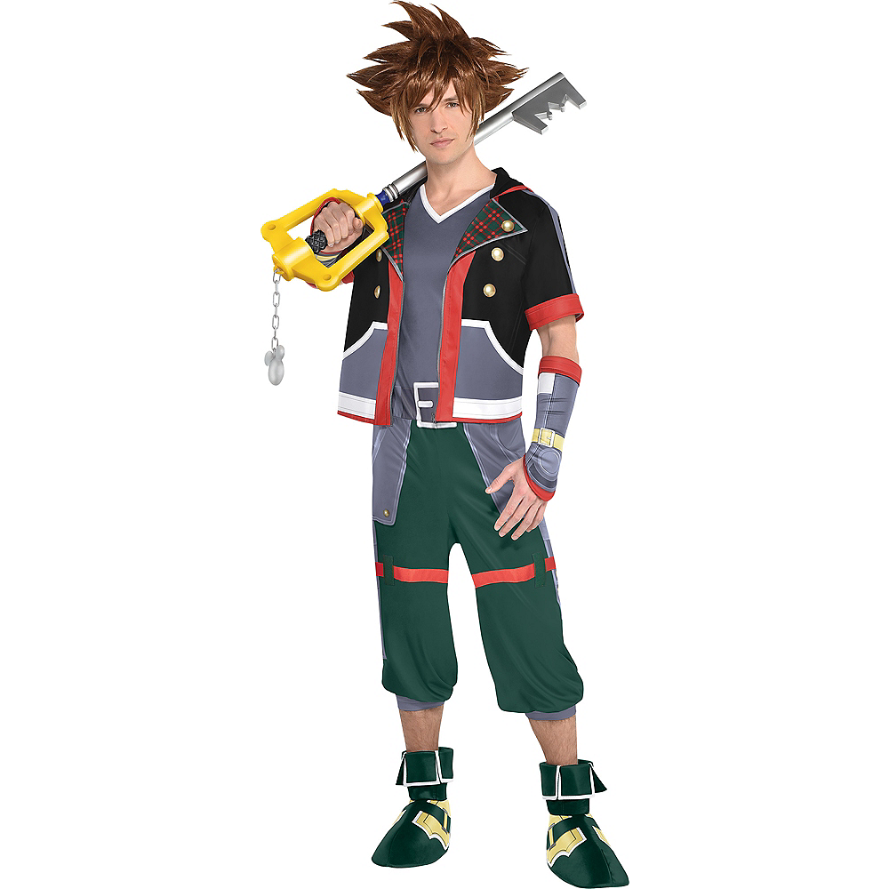 Adult Sora Costume - Kingdom Hearts Image #1