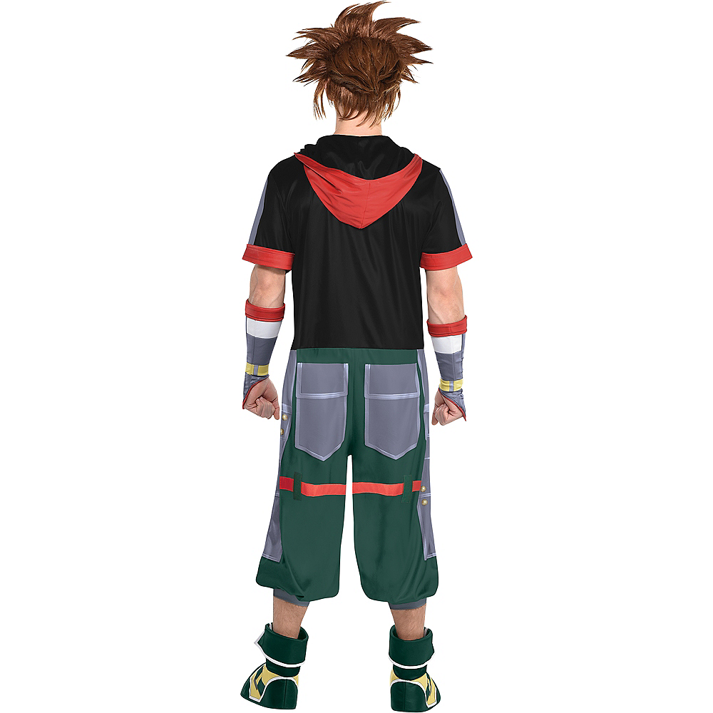 Adult Sora Costume - Kingdom Hearts Image #3