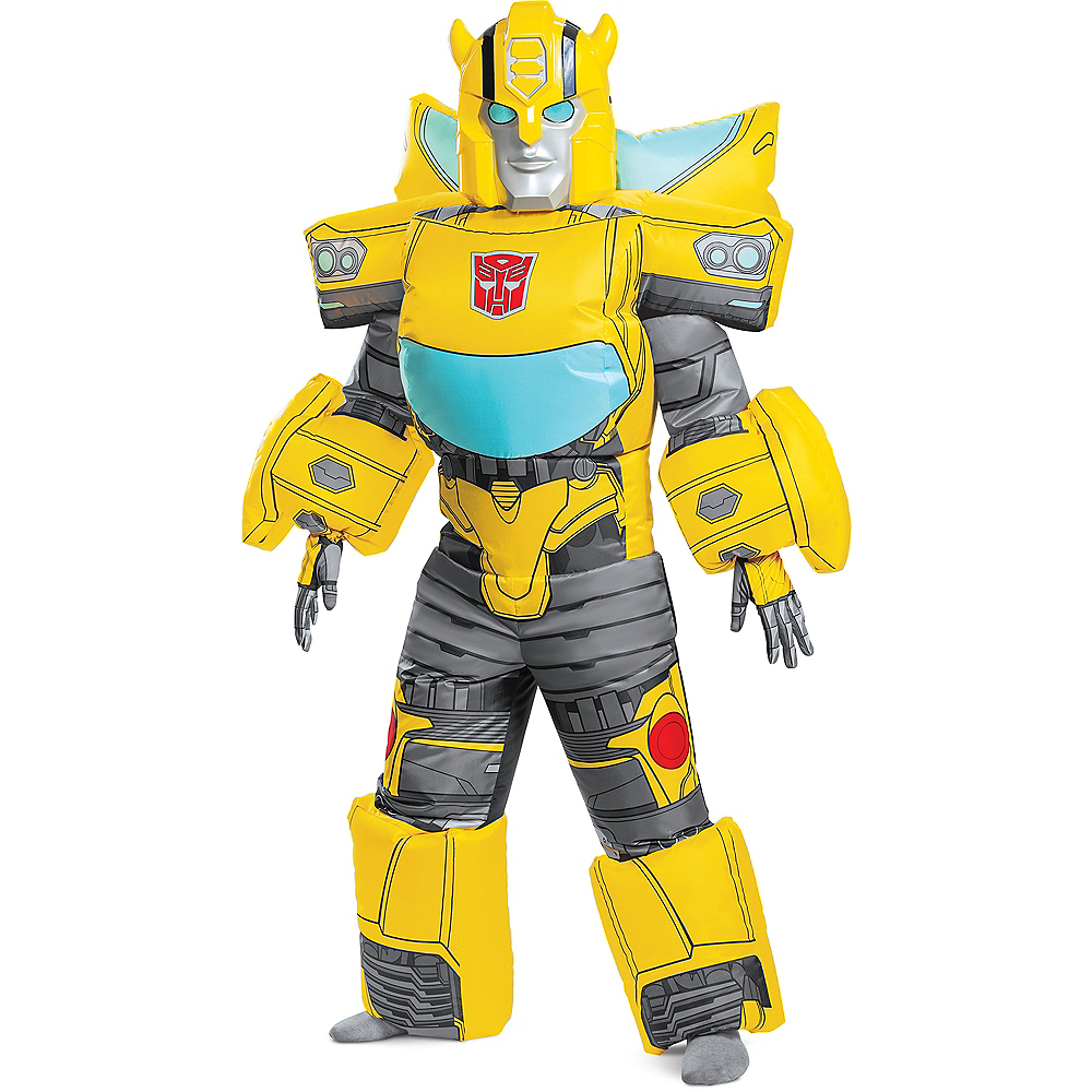 Nav Item for Child Inflatable Bumblebee Costume Image #1