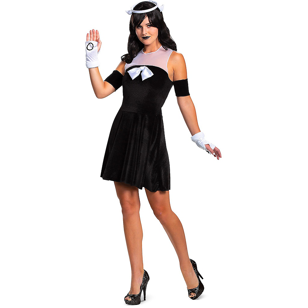Adult Alice Angel Costume - Bendy and the Ink Machine Image #1