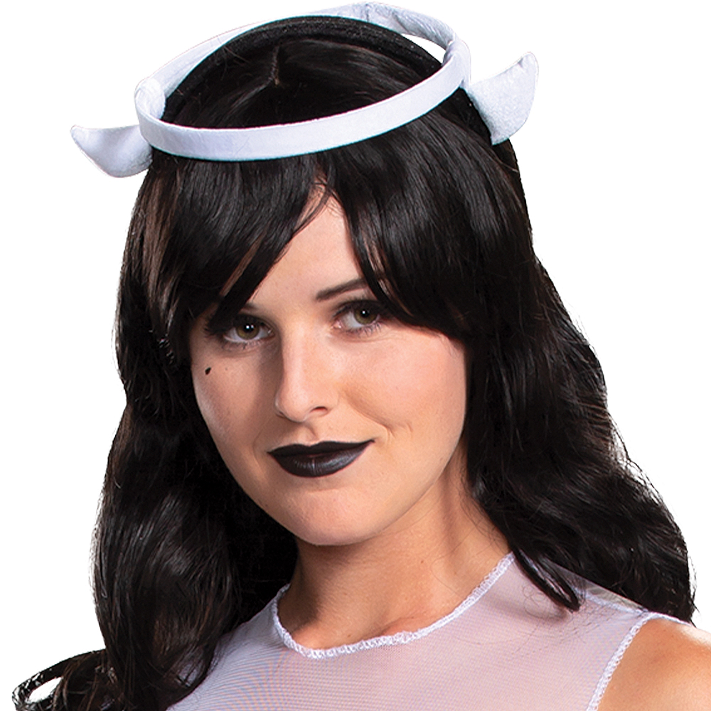 Nav Item for Adult Alice Angel Costume - Bendy and the Ink Machine Image #2