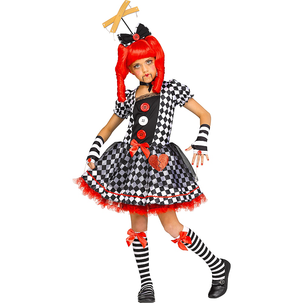 Nav Item for Child Marionette Doll Costume Image #1