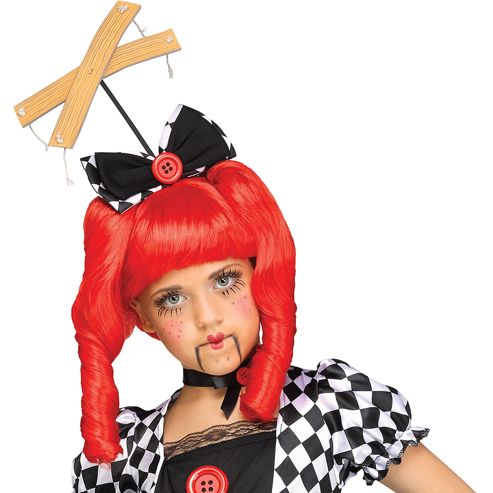 Child Marionette Doll Costume Image #2
