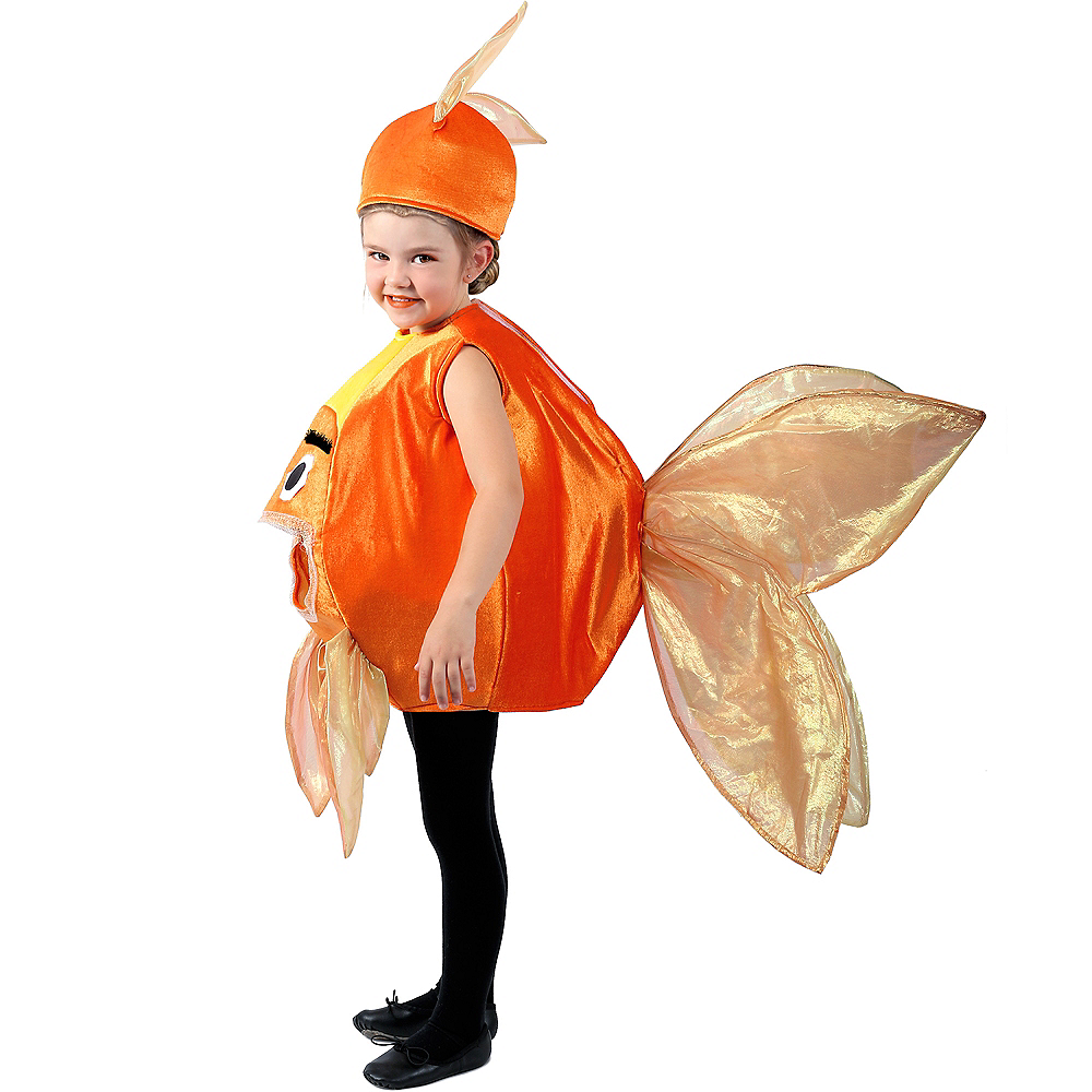 Child Beta Fish Costume Image #3